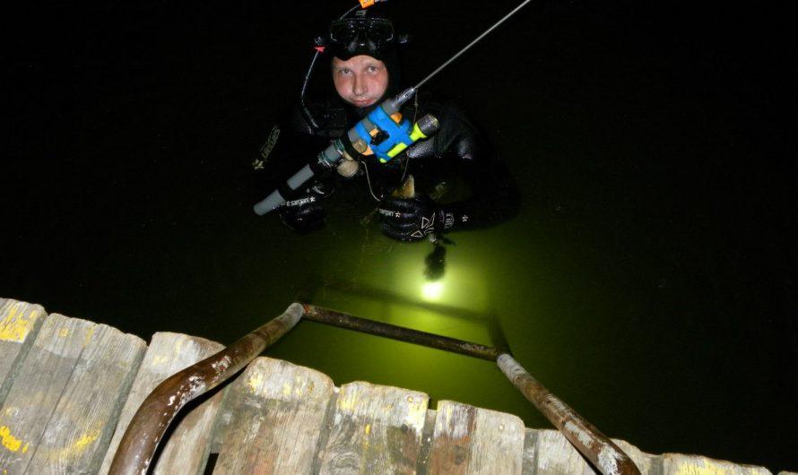 Особенности подводной охоты в тёмное время суток